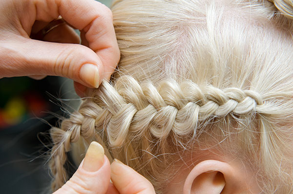 Learn How To Do The French Figure 8 Braid Kidsnips Chicagos