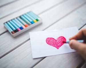 Heart Drawing KS