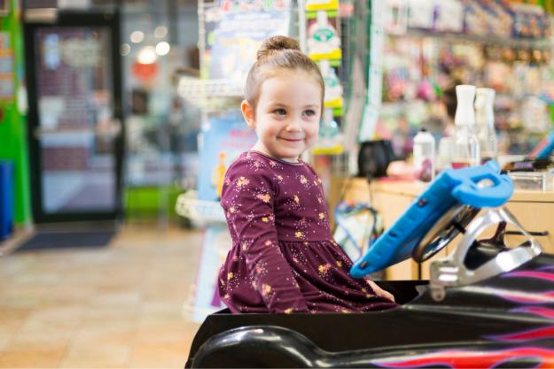 Girl Smiling at KidSnips